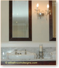 antique bathroom lighting