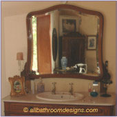 antique bathroom vanity