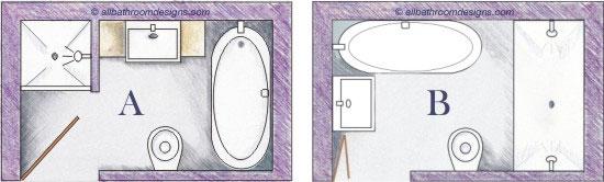 bathroom doors