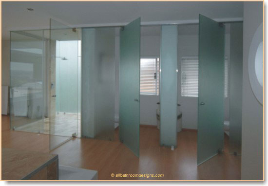 Bathroom Design Toilet Door : Bathroom doors an important part of your design