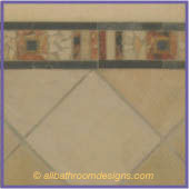 custom bathroom tiles