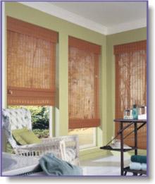 bamboo bathroom blinds