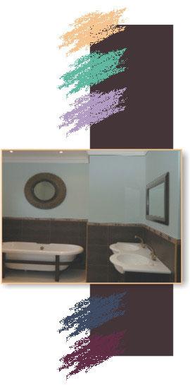 painting bathrooms