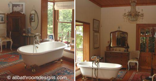 cool bathrooms antique