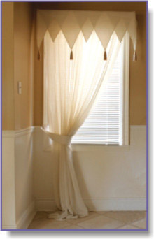 designer bathroom curtains
