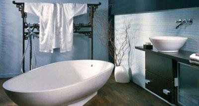 Japanese styled bathroom