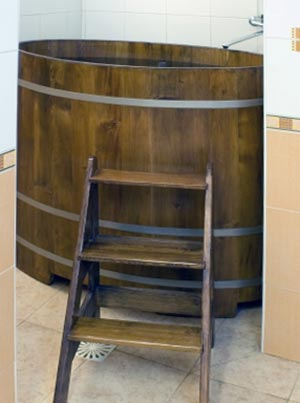 japanese wooden tub