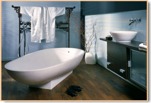 japanese bathrooms. A contemporary bathroom
