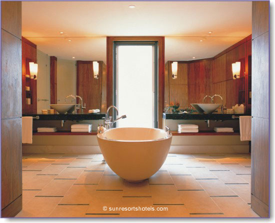 Symmetrical Master Bathroom Designs