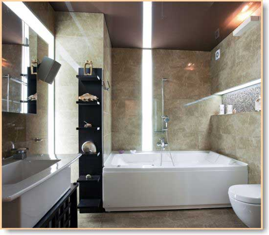 Simple Modern Bathroom Lighting And Vanity Bathrooms Larger Kings Bathrooms