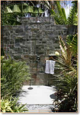outdoor shower design
