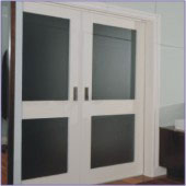 bathroom pocket doors