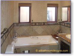 kids rustic bathroom