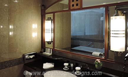 sconces on vanity mirror