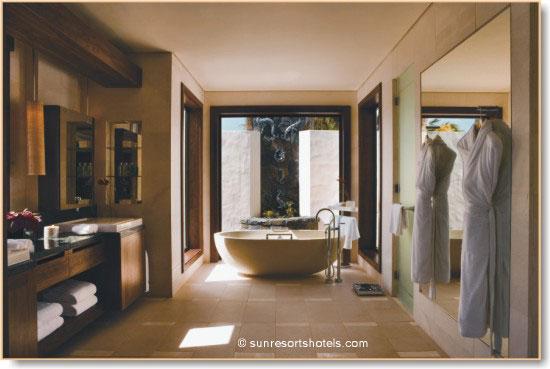 extended master bathroom