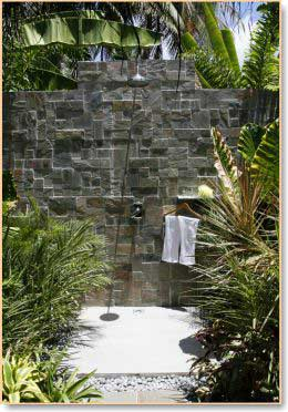 outdoor shower design