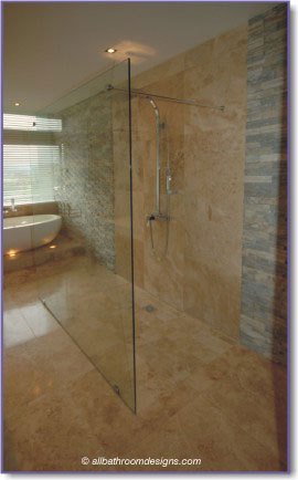 frameless showers