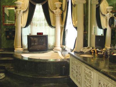 Rich Marbled Bathroom